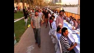 worlds largest iftar in sharajah