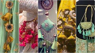 Handmade latkan designs || Tassels designs