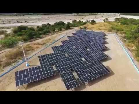 AXITEC solar modules on Dominican Republic