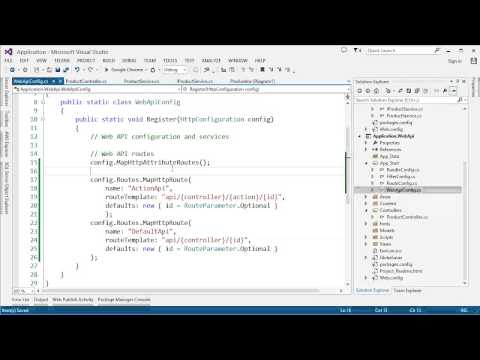 Part 4: ASP NET Web API - Routing