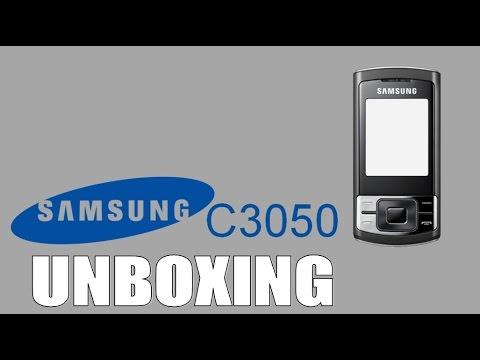 Unboxing Samsung C3050