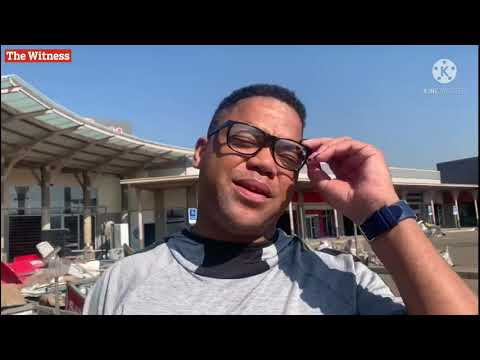 Pietermaritzburg businessman breaks down while speak about his looted businesses