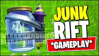 FORTNITE JUNK RIFT GAMEPLAY (IN-GAME)