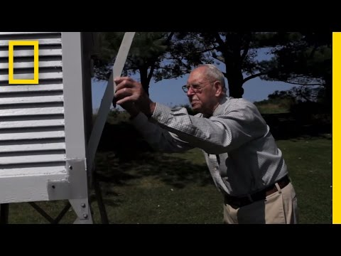 101-Year-Old Weather Observer Still at Work | National Geographic