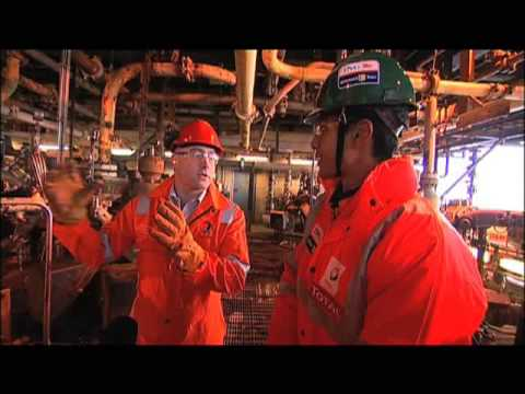 ING Renault F1 Team explores the world of offshore energy