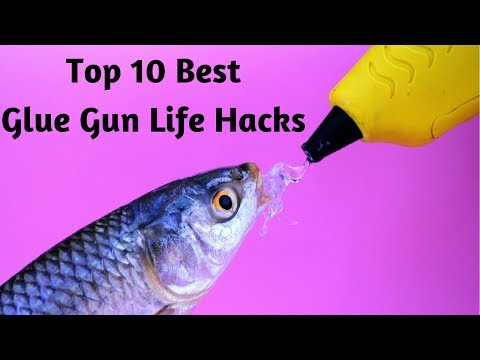 Thumbnail: 10 awesome HOT GLUE GUN LIFE HACKS compilation