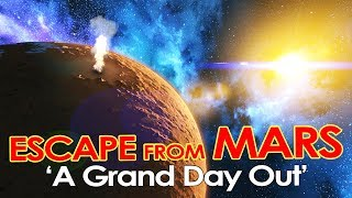 Space Engineers - ESCAPE FROM MARS - 'A Grand Day Out' #1 - Recap Montage