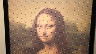 Mona Lisa Optical Illusions Trick Eye Busan Korea