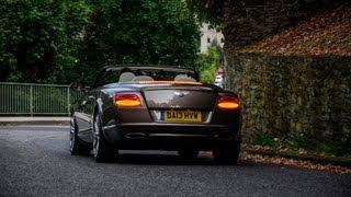 Bentley Continental GT Speed Convertible review, testdrive - AutoEmotionenTV