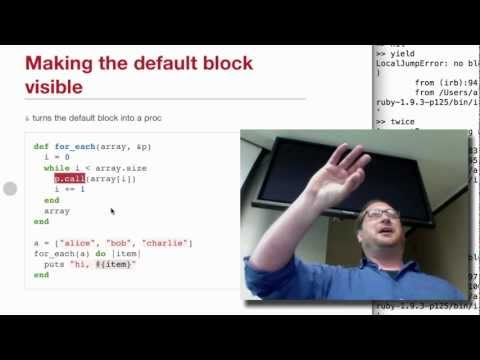 Code Blocks in Ruby