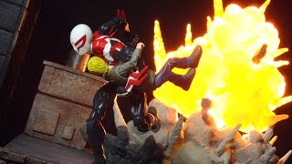 Marvel Legends Sandman BAF wave Spider-Man 2099 Figure Review