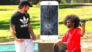 BREAKING STRANGER'S PHONES PRANK (PART 2)
