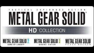 So about that rumoured Metal Gear Solid HD Collection for PS4....