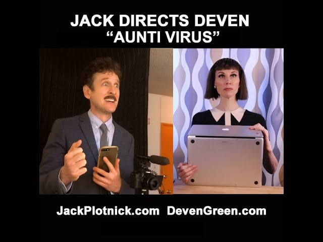 "Jack Directs Deven in ""Aunti Virus"""