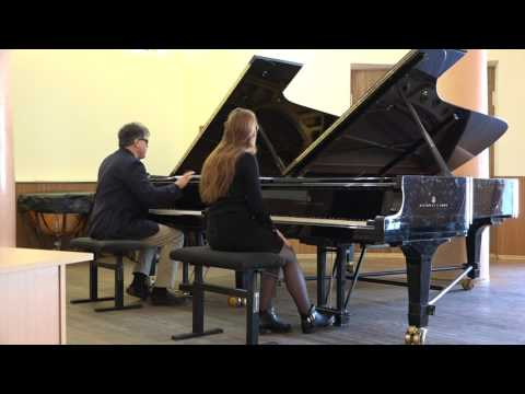 Part 2. Working on 32 variations Beethoven. Conservatory Kharkov