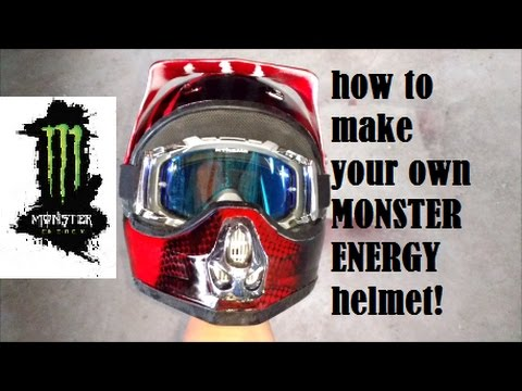 How To Make Your Own Monster Helmet!