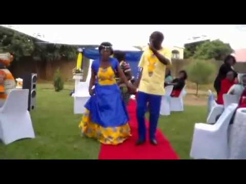 Mercy & Mwila's wedding/ kitchen party trailer