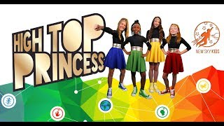 New Sky Kids Super Episode - The High Top Princess, The Magic Shoes and The Princess Super Powers