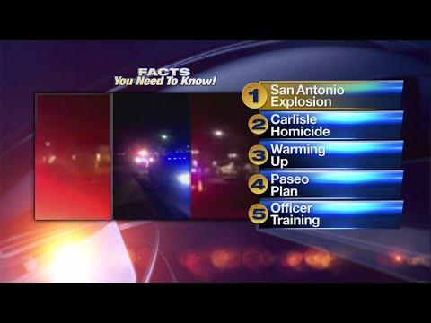 March 20 Morning Rush: Bomb detonates at FedEx facility near San Antonio