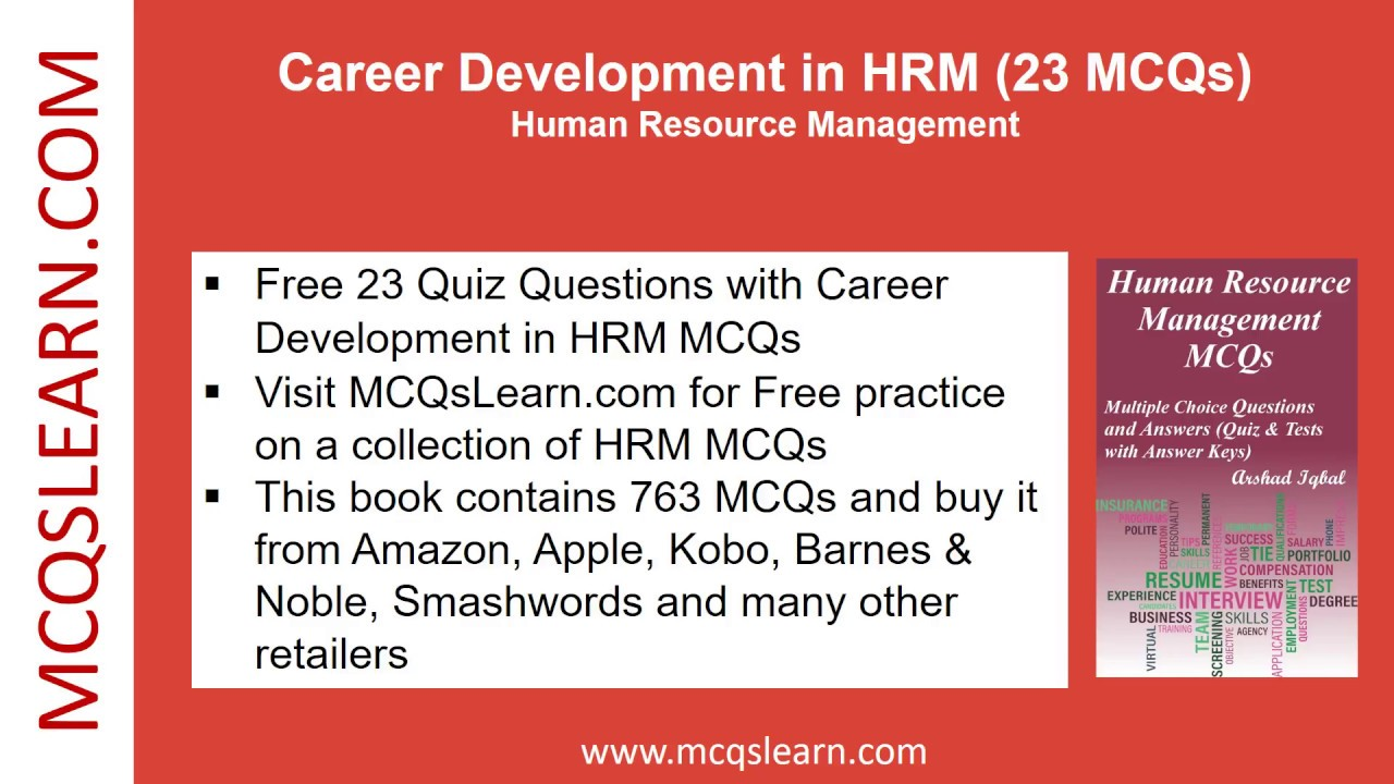 the role of human resource management in career development
