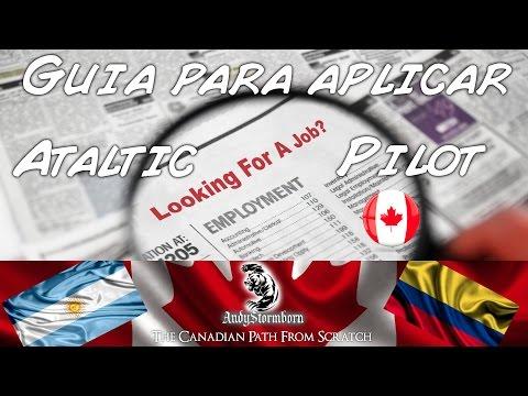 Guia para aplicar y lista de empleadores. Atlantic Pilot, Canada