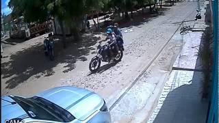 Moto tomada de assalto em Parnaíba