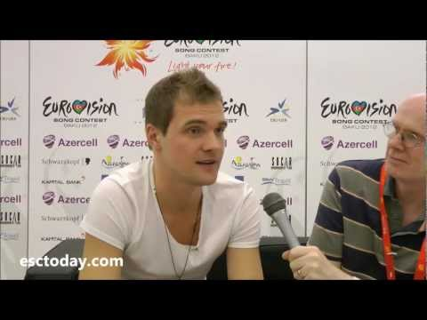 Eurovision Song Contest 2012 - Interview with Οtt Lepland, Estonia
