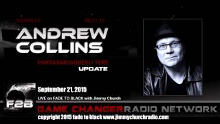 Ep. 325 FADE to BLACK Jimmy Church w/ Andrew Collins, Gobekli Tepe, LIVE on air