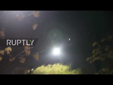Syria: Syrian air defense activated over Damascus
