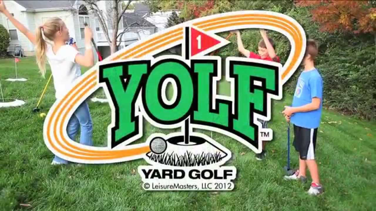Yolf - Yard Golf Game - YouTube