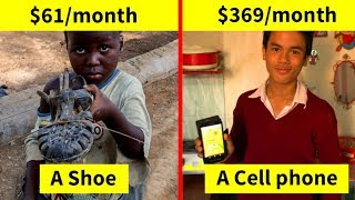 Kids At Every Income Level Were Asked To Show Their Favorite Toys, The Result Will Make You Think