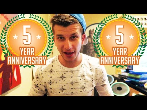 FIVE YEARS ON YOUTUBE...