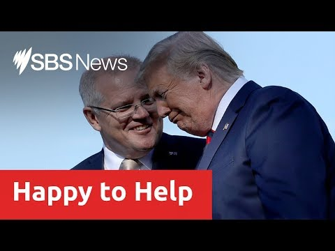 Scott Morrison defends Australia's decision to assist in Trump's investigation