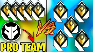 Registered Pro Team VS 5 Radiants! - What's the difference?