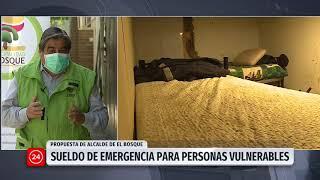 Alcalde de El Bosque propone sueldo de emergencia para la población más vulnerable