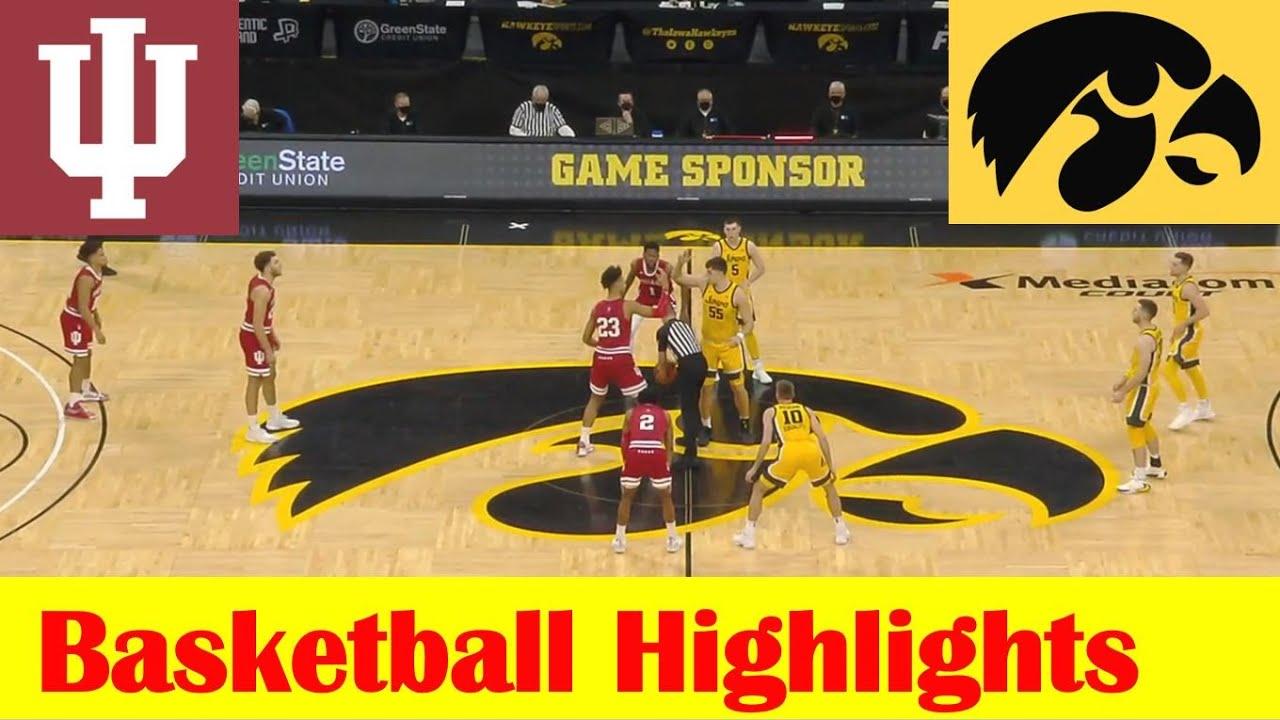 Download Indiana vs Iowa Basketball Game Highlights 1 21 2021