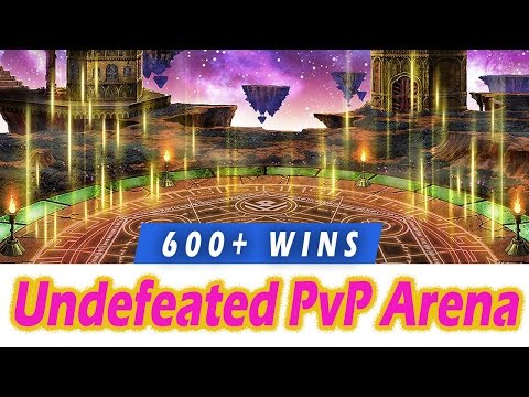 [FFBE] 600+ Win Streak Team Explained, Undefeated in PvP Arena