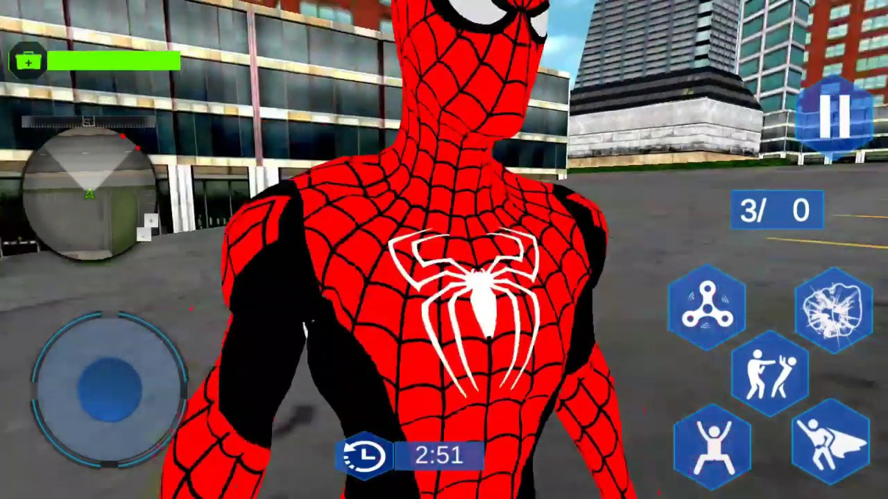New Flying Spider Superhero City Battle | Flying Hero Vs City Gangster | Android GamePlay
