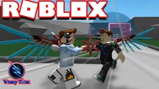 ROBLOX | The Minor Reason Africa Armed With Crossbows You Hit Too Nhây God Nhây | Lucky Block Battlegrounds | Vamy Tran