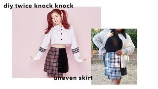 Gambar cover DIY TWICE 'KNOCK KNOCK' Skirt || YaGirlBri