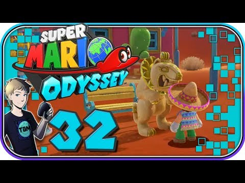 Super Mario Odyssey Walkthrough - Part 32: The Sphynx's Quiz