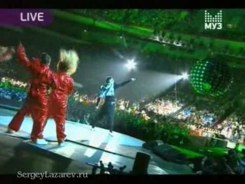 """Сергей Лазарев SERGEY LAZAREV """"LAZERBOY""""  LIVE MUZ-TV AWADS"""