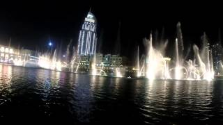 Dubai Fountain   Thriller Michael Jackson