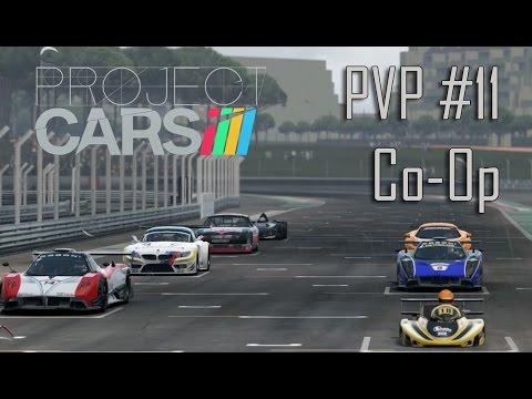 Project Cars - PVP Online CoOp #11 - Dubai Autodrome - McLaren 12C [PS4][1080P]