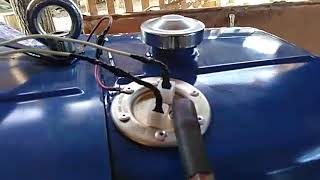 Врезка датчика уровня топлива
