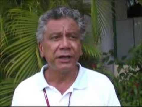 David Ngatae on climate change in the Cook Islands
