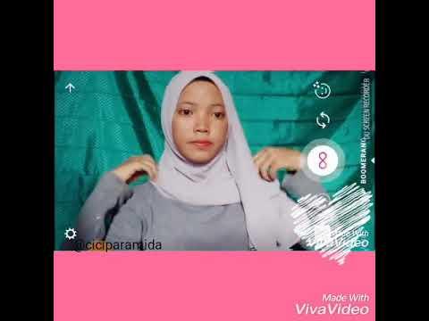 Tutorilah Jilbab Pasmina Simple Dan Elegan - By Cici Paramida