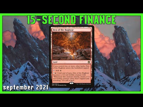 Den of the Bugbear Price Rising Fast [15-Second Finance] Magic: The Gathering #Shorts