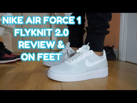 NIKE AIR FORCE 1 FLYKNIT 2.0 REVIEW & ON FEET ESPAÑOL
