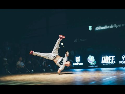Bboy Pocket vs Bboy Issei. Silverback 1 vs 1 Battle